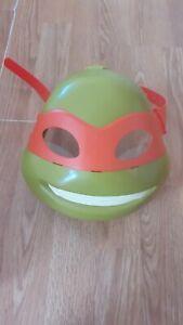 Teenage Mutant Ninja Turtles Michelangelo Electronic Talking Face Mask Cosplay