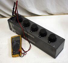 Leeds Northrup 4755 Decade Resistance Box 01 Ohm To 11111k Ohm 10k Resistor