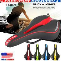 NEW Bicycle Bike Cycle MTB Saddle Road Mountain Gel Pad Sports Soft Cushion Seat