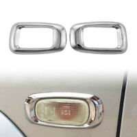 Door Signal Light Cover Trim For Toyota Land Cruiser Prado FJ120 2003-09 Chrome