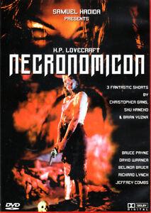 H.P. Lovecraft's Necronomicon , 100% uncut , english and german audio , new