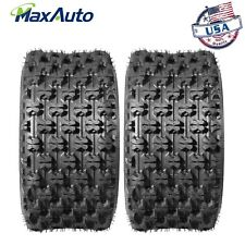 (2)20X10-9 Rear Sport ATV Tires for Honda TRX250R TRX400EX TRX450ER Polaris