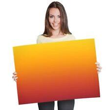 A1 - Sunset Red Orange Ombre Warm Poster 60X90cm180gsm Print #2677