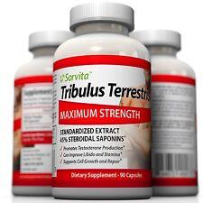 Sorvita Tribulus Terrestris Extract 1300mg - 45% Steroidal Saponins