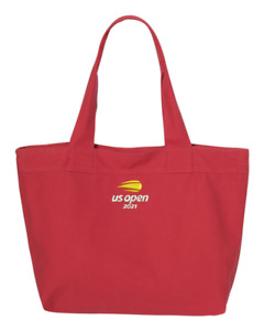 2021 US OPEN TENNIS Embroidered Zippered Large Tote Bag