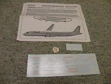 Flight Path decals 1/200 Fp20-84 Braniff Ultra Light Blue Dc-8-62 Box 13