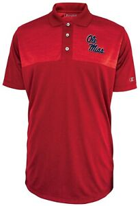 Mississippi Ole Miss Rebels NCAA Champion Playbook Men's Performance Polo Shirt