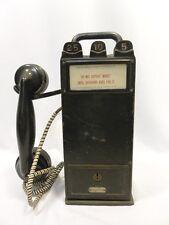 Gray Telephone Model 20 Folding Handle Portable Paystation