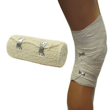 Qualicare Thick 10cm Cotton Crepe Durable Bandage Dressing First Aid Support x1
