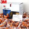 3M 1100 Disposable Foam Ear Plugs SNR 37dB Noise Reducer  PACKS OF 5 to 200Pairs