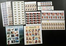 Small Lot of US Postage Plate Blocks, Multiples & Panes FACE $48.66