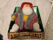 Pimp daddy Santa talking plush figure!