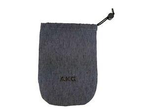 Near Mint Official AKG Pouch Black Headphones Microphone Headset