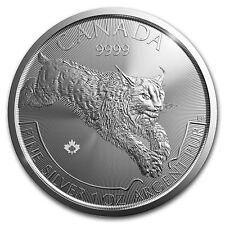 Canada Lynx Lynx 2017 1 oz 999 Silber Silbermünze Predator Serie 5 CAD