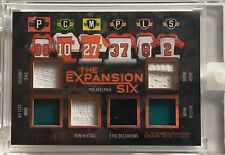 18/19 LEAF ULTIMATE - LINDROS HEXTALL RECCHI + -  #10/20 - EXPANSION SIX - ITG