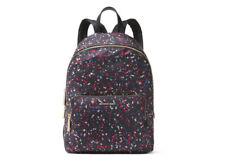 NWT MICHAEL MICHAEL KORS Wythe Large Nylon Backpack-Black Speckled Print/Multi