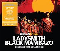 Ladysmith Black Mambazo : The Essential Collection CD Album with DVD 2 discs