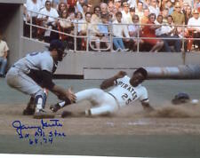 JERRY GROTE 2X ALL STAR 68, 74  NEW YORK METS SIGNED 8X10 PHOTO W/COA