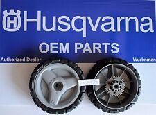 2 Husqvarna OEM 580365301 Lawn Mower Drive Wheels fits AWD mowers