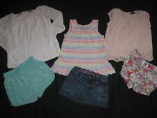 Baby Gap Girls 2T Summer Clothes Outfit Lot Shirts Shorts Skirt Entire Lot Gap!