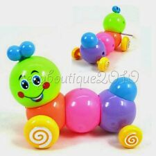 Caterpillar Wind Up Toys Body Worming Roll Children Kids Gift Games Plastic New