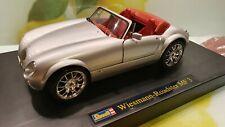Modellauto 1:18 Revell Wiesmann Roadster MF3 Metall DieCast silber - TOP - neu