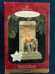Hallmark Keepsake - The Lincoln Memorial - 1997 **NEW / FREE SHIPPING** Magic
