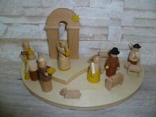 Modern Nativity Fa STRACO there are no longer Erzgebirge 100% Seiffen