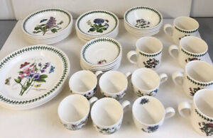CH Portmeirion Botanic Garden 38 Piece Dinner Tableware Partial Dining Set