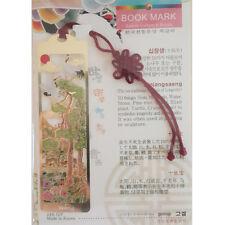 Traditional Korean Metal Bookmark Sipjangsaeng Made in Korea