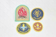 Lot of Assorted Boy Scout patches-Webelos Weekend-Den Leader-BL