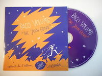 PACO VOLUME : THE JEAN GENIE ♫ PROMO CD SINGLE ♫♫ DAVID BOWIE HOMAGE