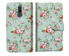 Royal Garden Wallet Phone Case Cover For Telstra Nokia 2.1 - A023