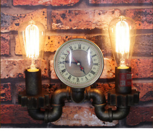 Retro Vintage Metal Pipe Industrial Wall Light