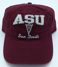 NCAA Arizona State Sun Devils Adidas Adult Adjustable Fit Slouch Cap Hat NEW ! 39f7be0e5a34