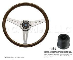 Nardi Classic 360mm Steering Wheel + Hub for Nissan 5061.36.3090+4350.98.1009