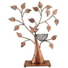 Jewelry Tree Bronze Bird Nest 48 pair Earrings Holder, Bracelets / Necklace