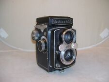 YASHICA 635 TLR TWIN LENS REFLEX 120/35mm FILM CAMERA w/ YASHIKOR 3.5 80mm LENS