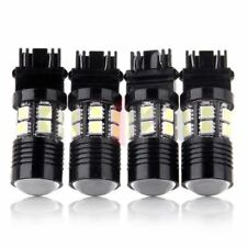 4pcs White High Power Cree 12SMD LED Back Up Reverse Light 3156 3157 4057 4157