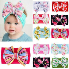 Baby Girls Hair Band Headband Bow Soft Elastic Headwear for Toddler Newborn