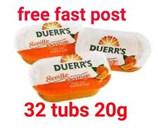 32 x Duerrs Orange Marmalade Individual Mini Pots 20g each
