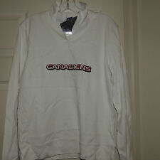 NHL Montreal Canadiens Hockey 1/4 Zip Pullover New Womens M