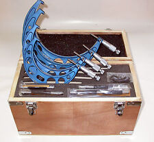 Mikrometer Satz 200-300mm Micrometer Bügelmeßschraube Meßbügel Set Kit Box Kiste