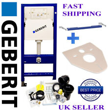 Geberit Duofix  wall hung toilet frame  WC 1.12M with wall brackets & mat