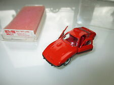 "Opel GT (""GTi"") in orange rot rouge roja rosso red, Schuco in 1:66 boxed!"