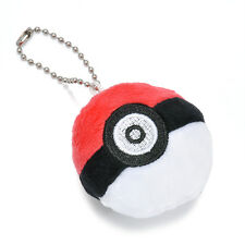 Anime Pokemon Pokeball Plush Stuffed Bag Pendant keychain Soft Doll Toys Strap