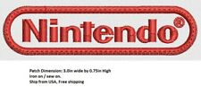 *Love It Or Its Free* Nintendo Embroidered Patch Iron On/ Sew On, Free Ship
