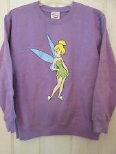 NWT Girl's Disney Tinker Bell Purple Sweatshirt sz. large