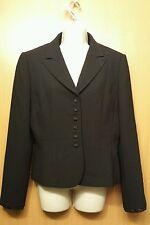 Tahari Arthur S Levine Black Blazer with Black Lace Trim Size 10
