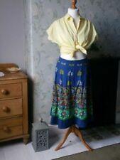 Ethnic/Peasant Everyday Original Vintage Skirts for Women